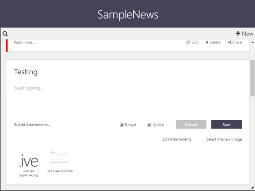 Introducing our News List Tile